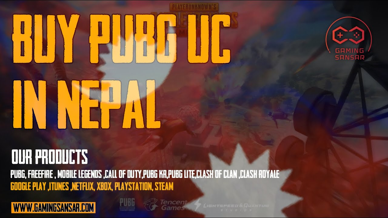 How to buy PUBG UC from Gaming Sansar?